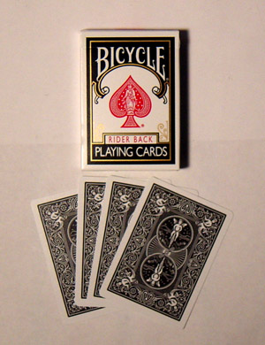 Bicycle Standart Playing Cards (BLACK)